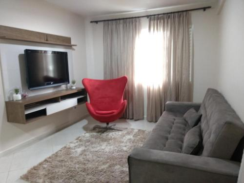Apartamento aconchegante no centro de Foz do Iguaçu (Photo from Booking.com)