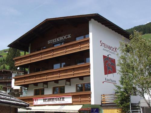 Appartements Steinbock Lanersbach-Tux