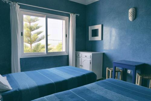 Camera Standard Doppia con Letti Singoli e con Vista Mare (Standard Twin Room with Sea View)