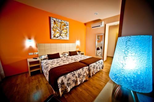 Zweibettzimmer Hotel Condes de Castilla 20