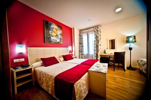 Zweibettzimmer Hotel Condes de Castilla 11