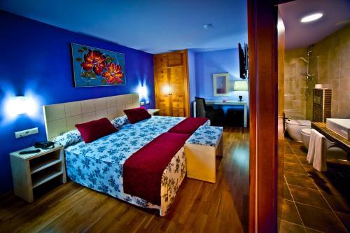 Zweibettzimmer Hotel Condes de Castilla 16