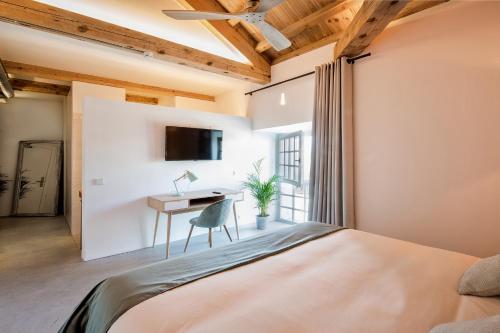 Superior Doppel- oder Zweibettzimmer - Einzelnutzung La Fábrica del Canal 2