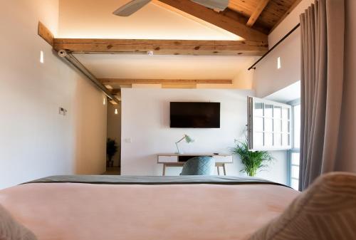 Superior Doppel- oder Zweibettzimmer - Einzelnutzung La Fábrica del Canal 1