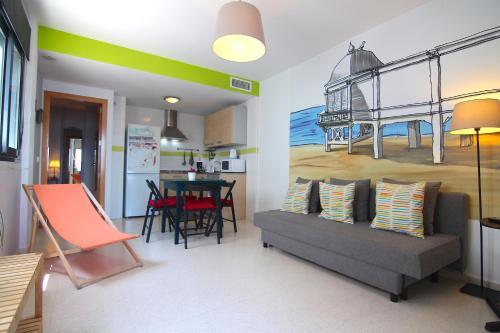 Apartamento C4R PUERTA-CALETA (free parking)