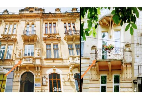 . Family apartments in Lviv center with balcony