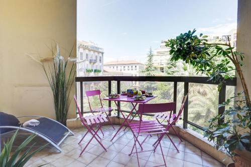 . LE GRAND HOTEL -F2, FACE VIEUX- NICE, TERRASSE, ASCENSEUR, CLIMATISATION, Terrace - Nice city center
