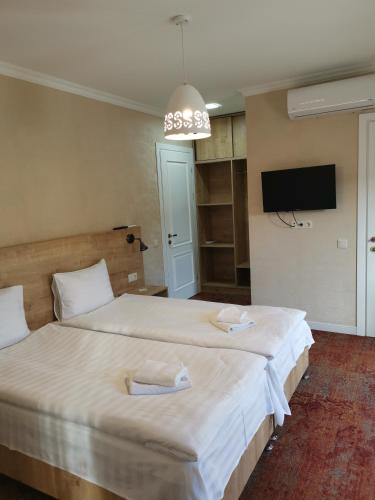 Kamar Triple dengan Pemandangan Kota (Triple Room with City View)