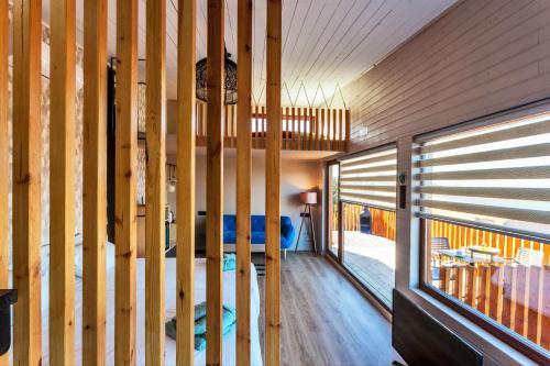 Suite Deluxe con bañera de hidromasaje Nidos de carnota 4