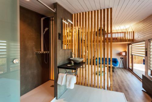 Suite Deluxe con bañera de hidromasaje Nidos de carnota 6