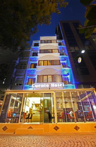 Istanbul Taksim Cuento Hotel map