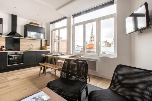 Appartement 70m2 - plein centre - Location saisonnière - Lille