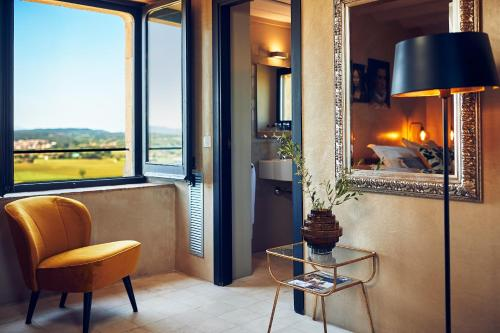 Doppelzimmer im Tower Hotel Castell d'Emporda 3