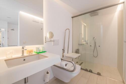 Habitación Doble adaptada para personas con movilidad reducida - Uso individual Sindic Hotel - Adults Only 11