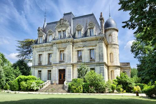 Kasteel-overnachting met je hond in Château de Camperos Vignes & Spa - Barsac