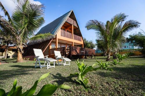 . Beach and Ocean Villas Tofinho, Praia do Tofo