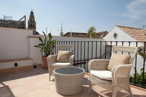 Suite Junior with Terrace Balcón de Córdoba 17