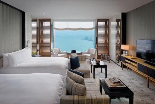 海港景行政特級雙床房 (Club Grand Twin Room with Harbor View)