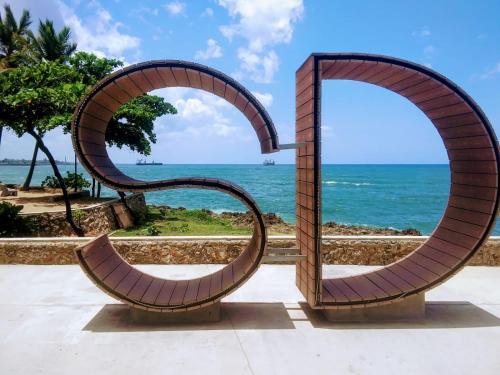 Gazcue Penthouse 250 Mq Con Terraza Vista Al Mar En Santo