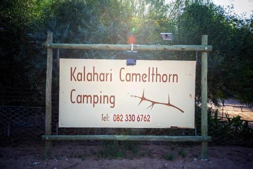 Kalahari Camelthorn Camping and B&B