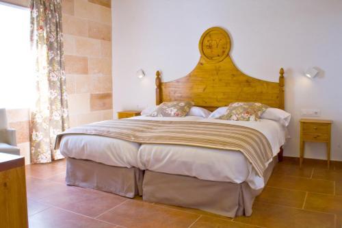 Zweibettzimmer - Einzelnutzung Hotel Rural Binigaus Vell 13