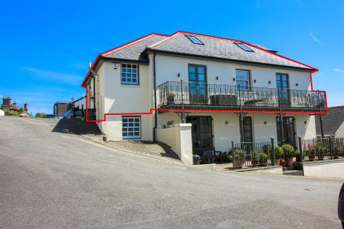 Upper Bohella House, St Mawes, Cornwall