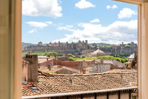 . Les Clés de Laure - Wine Loft, Terrasse et Vue extraordinaire sur la cité médiévale