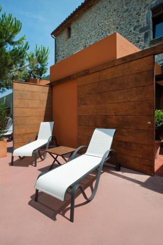 Suite Junior con acceso gratuito al spa Mas Falgarona Hotel Boutique & SPA 7