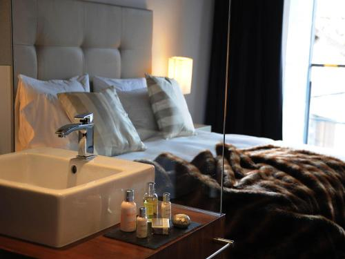 Deluxe Double Room with Spa Access Bonansa Country Hotel 18