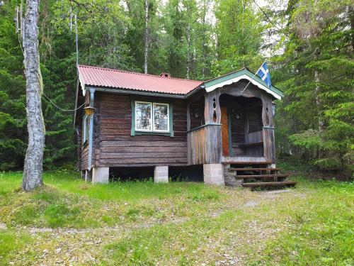 Liten timmerstuga i Sälen - Accommodation