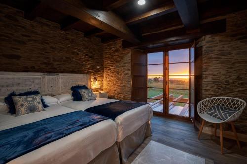 Standard Twin Room - single occupancy Hotel Rural La Sobreisla 1