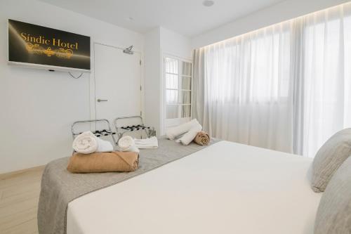 Habitación Doble adaptada para personas con movilidad reducida - Uso individual Sindic Hotel - Adults Only 14