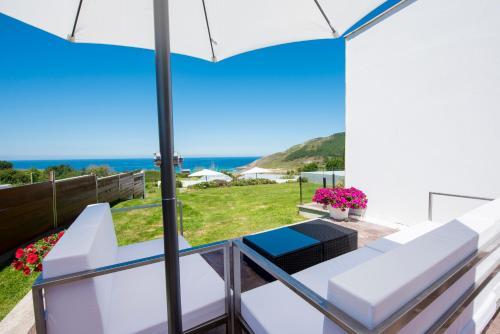 Doppel-/Zweibettzimmer mit Meerblick Hotel Naturaleza Mar da Ardora Wellness & Spa 49
