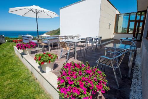 Doppel-/Zweibettzimmer mit Meerblick Hotel Naturaleza Mar da Ardora Wellness & Spa 50