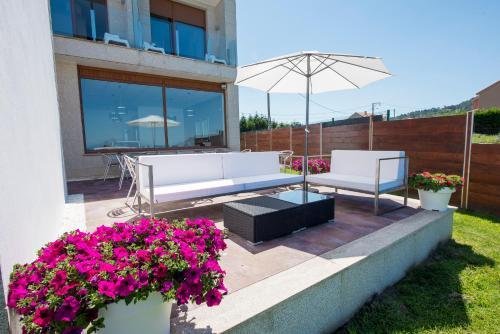 Doppel-/Zweibettzimmer mit Meerblick Hotel Naturaleza Mar da Ardora Wellness & Spa 51