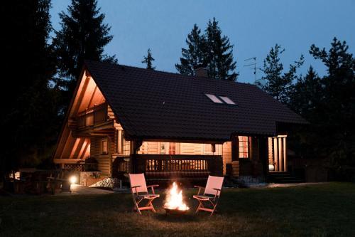 Wooden villa Honka Bloke