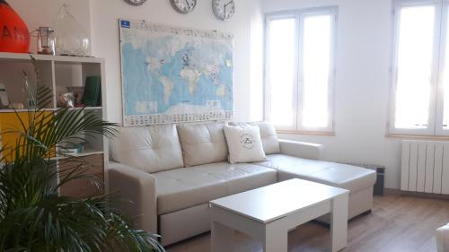 Granville hyper centre Appartement proche plages dernier étage - Location saisonnière - Granville