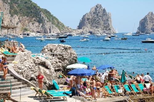 villa igea, Pension in Capri