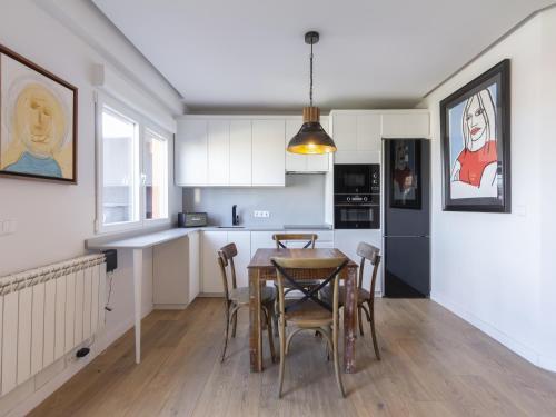 Design luxury penthouse madrid center room photos