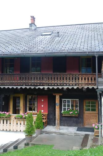 Chalet Cergnat Bed and Breakfast - Accommodation - Morgins
