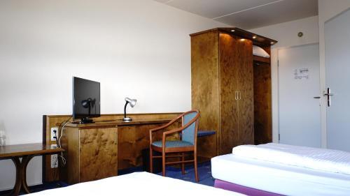 Entrée Hotel Glinde in Hamburg - Trabber Hotels