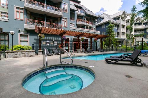 . Spring Special 109 dollars per night Whistler Alpenglow studio suite WIFI cable TV pool hot tub mountain views