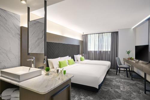 תמונות לחדר Hotel Ease Tsuen Wan