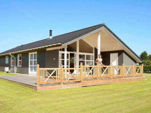 . Three-Bedroom Holiday home in Rødvig Stevns 1