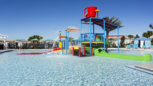 Pool Villa with Themed Rooms Near Disney-1901NC Main image 1