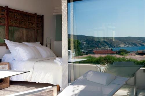 Habitación Doble Premium con vistas al mar Boutique Hotel Spa Calma Blanca 5