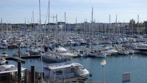 Les Voiles D'Olona, vue sur le port de plaisance - Location saisonnière - Les Sables-d'Olonne