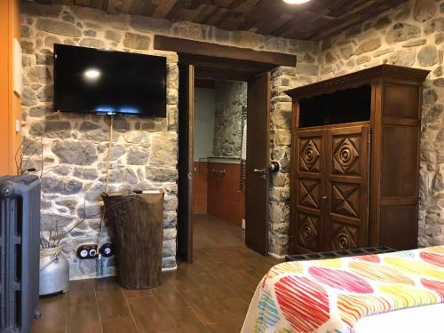 Habitación Doble adaptada para personas con movilidad reducida Casona de El Castañíu 5