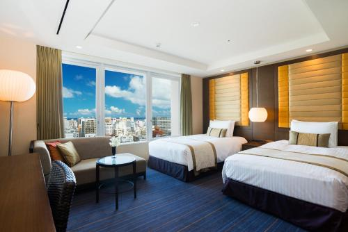 海港景豪華雙床房-禁煙 (Deluxe Twin Room with Harbor View - Non-Smoking)