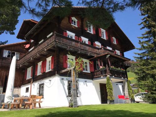 . Ferienhaus Chalet Riedji